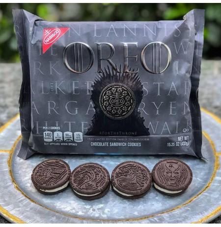 Paquete de Galletas Oreo, Edición Especial de Game of Thrones