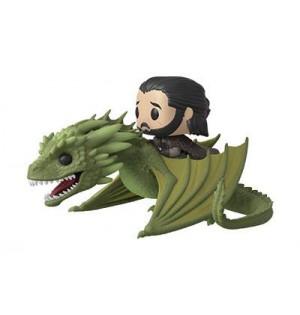 Figura Funko POP de Rhaegal  con Jon Snow