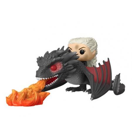 Figura Funko POP de Daenerys on Fiery Drogon | Game of Thrones