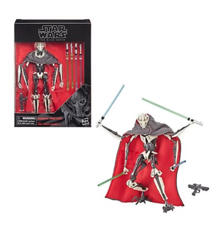 Figura Black Series  de  General Grievous | Star Wars