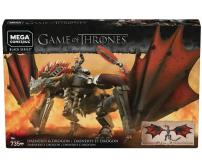 Mega Construx Daenerys and Drogon Playset | Game of Thrones