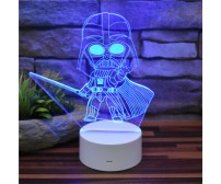 Lámpara de escritorio LED Q Darth Vader